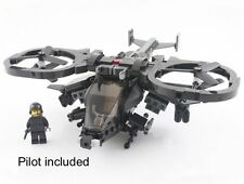 Lego MOC custom AT-99 AVATAR Scorpion Gunship RDA Pandora Attack Helicopter
