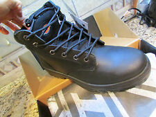 NEW DICKIES CHALLENGER WATERPROOF BLACK STEEL TOE WORK BOOTS MENS 12