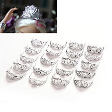 20 Pcs Fashion Crowns for Barbie Headwear Jewelry Accessories for Doll Mix  HU
