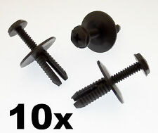 10x BMW Screw Fit Rivetto Di Plastica Clip per SIDE SKIRTS & Rocker copre MODANATURE