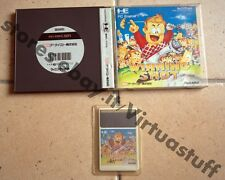 Winning Shot, golf, Pc Engine, Hu Card, coregrafx, very good condition, Raro
