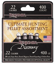 Crosman BENJAMIN DISCOVERY AIRGUN PELLETS .22 - Hunting Air Rifle Gun Sample 22