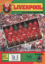 1984/5 Liverpool v Arsenal,  Division 1, PERFECT CONDITION