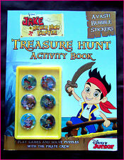 DISNEY - JAKE & NEVERLAND PIRATES ACTIVITY BOOK Puzzles Games 3D Stickers & More