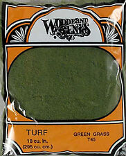 NEW Woodland Scenics Turf Fine Green Grass T45 NIB
