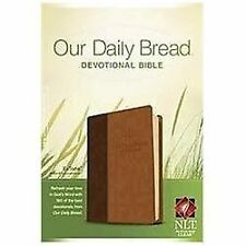 Our Daily Bread Devotional Bible NLT, TuTone by