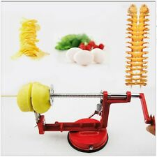 Apple Potato Machine Slicer Dicer Fruit Kitchen Fruit Vegetable Coring Slice New