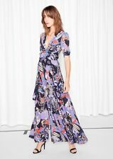 & Other Stories (H&M) Nostalgia Slits Jardin Floral Maxi Dress EU 38 (12) RRP£79