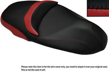 DARK RED & BLACK CUSTOM FITS PIAGGIO BEVERLY 350 SPORT TOURING SEAT COVER