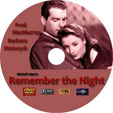 Remember the Night DVD Barbara Stanwyck Fred MacMurray Rare1940