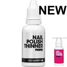 Salon System Profile Nail Varnish Polish Thinner 30ml  NEW STOCK - NEW BOTTLE