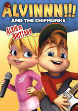 ALVIN & THE CHIPMUNKS: ALVI...-ALVIN & THE CHIPMUNKS: ALVIN VS. BRITTANY DVD NEW