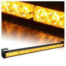 "Yellow US 24LED 27"" Auto Emergency Warning Traffic Advisor Flash Strobe Light"