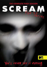 Scream: The Tv Series Ssn1, Excellent DVD, Jason Wiles, Carlson Young, Bex Taylo