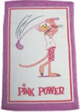 Pink Panther Golf Towel (16x25)
