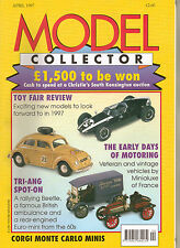 MODEL COLLECTOR Magazine Apr 1997 EFE Corgi Minis Triang Spot-On Siku Tankers