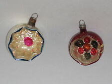 Glass Christmas Ornament Antique West German Vintage Decoration 1950's