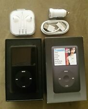 Mint in Box Black Apple iPod Classic 160Gb 6th Gen Perfect Hard Drive Flat Fedex