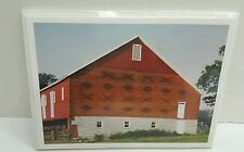 PHIL SCHAFF GREETING CARD PACK OF 6 Images of PENNSYLVANIA BARNS BRICK PATTERNS