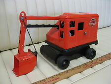 1950s MARX Power Shovel Digger Lumar Contractors Lithographed Metal Toy