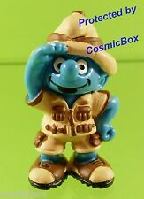 Figurine le SCHTROUMPF SAFARI 20475 1991 SCHLEICH  Smurf figure PITUFO