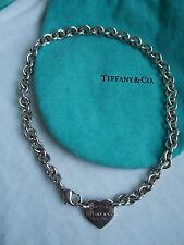 """TIFFANY & CO. """"RETURN TO TIFFANY"""" HEART TAG NECKLACE!!!"""