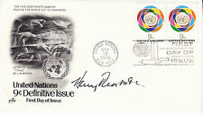 HARRY REASONER (1923-1991) hand signed  - 1976 FDC autographed