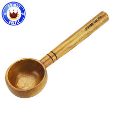Tiamo 30g Coffee Measure Wooden Scoop Spoon 7.3""