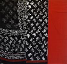 Cotton Bagru dress material for Salwar kameez Latest design - Butterflies
