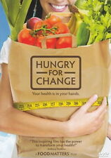 Hungry For Change DVD - Health, Diet, Sugar, Weightloss, Film, Documentary