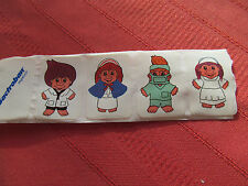 vintage BACTROBAN TROLL STICKERS (SET OF 4) NURSE DOCTOR PHARMACEUTICAL ADV