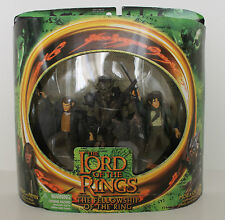 Lord of the Rings Fellowship Merry and Pippin with Moria Orc MIB!!