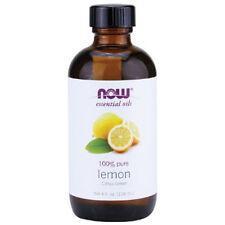 Lemon Oil (100% Pure), 4 oz - NOW Foods Essential Oils