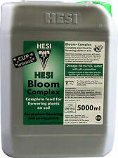 HESI BLOOM COMPLEX 5L FERTILIZZANTE FIORITURA FERTILIZER COLTIVAZIONE INDOOR g