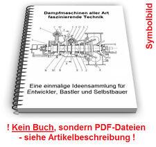 Dampfmaschine selbst bauen - Dampf Maschine Technik Patente Patentschriften