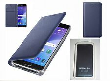 Original Samsung Galaxy A3 2016 Edition Flip Wallet Cover Case EF-WA310 Tasche