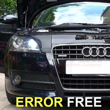 AUDI A3 S3 A4 A6 Q7 XENON WHITE LED SIDELIGHT BULBS CANBUS ERROR TT