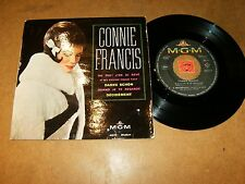 CONNIE FRANCIS - EP FRENCH MGM 63613  / LISTEN - TEEN FRENCH POPCORN