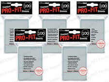 500 ULTRA PRO PRO-FIT INNER SLEEVES MTG For Double Sleeving w/ Deck Protectors