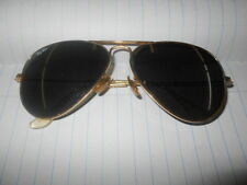 VINTAGE Ray Ban / Bausch & Lomb Aviator 59/14  Outdoorsman-SOME MARKS ON LENSES