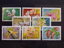 Briefmarken Welt Asien Vietnam Motiv Blumen Pflanzen Stamps World Flowers