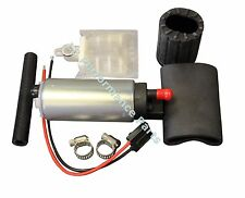 New Uprated Electric HF 340 LPH Petrol Fuel Pump For VW GOLF GTi Turbo