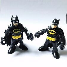2x Imaginext DC Super Friends Batman Fisherprice