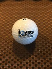 LOGO GOLF BALL-IHERF...IOWA HOSPITAL EDUCATION RESEARCH FOUNDATION.