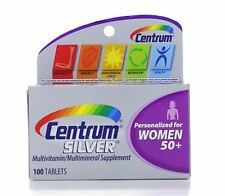 Centrum Silver Ultra Women's Multivitamin/Multimineral Tablet 100 ea (6 pack)