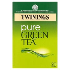 Twinings Pure Green Tea 20 Tea Bags 50G - Sold Worldwide From UK