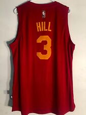 Adidas Swingman 2015-16 NBA Jersey Indiana Pacers George Hill Burgundy sz 2X