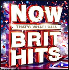 Now Thats What I Call Brit Hits Music (2016) 3 CD Set (Jess Glynne James Bay etc
