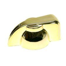 """Chicken head pointer amp knob set screw 1/4"""" - gold"""