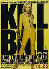 KILL BILL VOL. 1 Movie Promo POSTER Japanese Uma Thurman Lucy Liu Vivica A. Fox